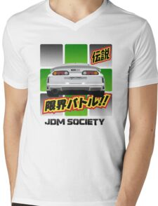 Top Secret Toyota Supra Mens V-Neck T-Shirt