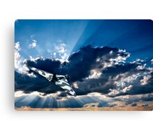 the wide blue yonder Canvas Print