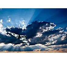 the wide blue yonder Photographic Print