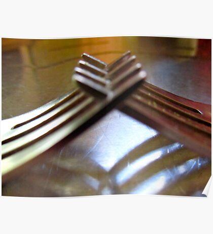 friendly forks..... Poster