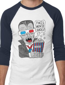 This Movie Sucks Men's Baseball ¾ T-Shirt