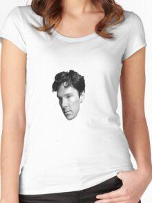 Benedict Cumberbatch Women's Fitted Scoop T-Shirt