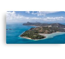 Landing in Tropical Paradise Canvas Print