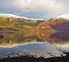 Reflections On Loch Leven. by ninjabob