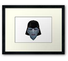 Darth Voldy Framed Print