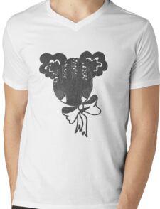 Cutie-Bow Mens V-Neck T-Shirt