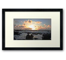 Donegal Sunset Framed Print