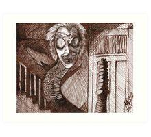 BeetleJuice Snake Art Print