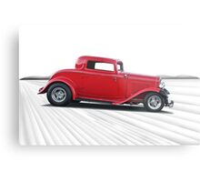 1932 Ford 'Dropped Top' Coupe I Metal Print
