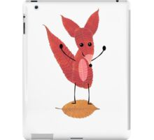 Fox Made of Leaves iPad Case/Skin