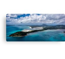 An Arrow Points Out to Sea Canvas Print