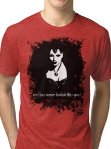 Evil has never looked this good. Tri-blend T-Shirt