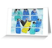 Flippers Greeting Card