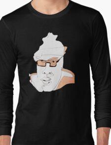 Coffeeshopper Artsy Man #13 - People Watching People Long Sleeve T-Shirt
