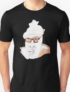 Coffeeshopper Artsy Man #13 - People Watching People Unisex T-Shirt