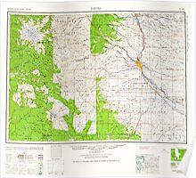 USGS Topo Map Washington State WA Yakima 244824 1961 250000 Poster