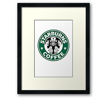 Starburns Coffee Framed Print