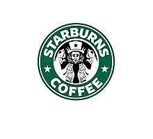 Starburns Coffee Photographic Print