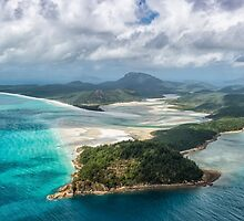 Helicoptering Over Hill Inlet by Kristin Repsher