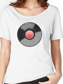 Vinyl Record 2 Worn Well (please see notes) Women's Relaxed Fit T-Shirt