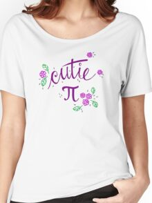 Cutie Pi (Purple) Women's Relaxed Fit T-Shirt