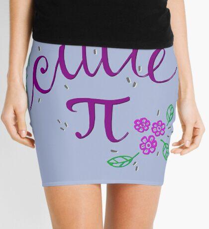 Cutie Pi (Purple) Mini Skirt
