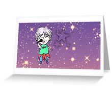 K-POP Superstar Boy Idol ~ Greeting Card
