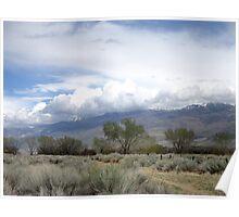 Storm Scene Poster