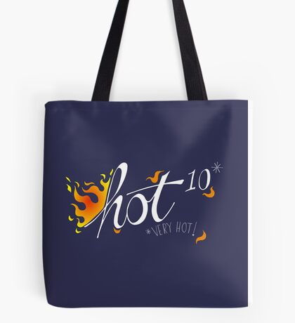 Hot to the power of 10 Tote Bag