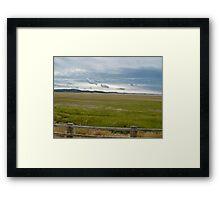 flood plains Framed Print