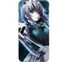 killer anime girl iPhone Case/Skin