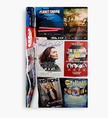 street posters Canvas Print