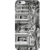 Trevi Fountain B&W iPhone Case/Skin
