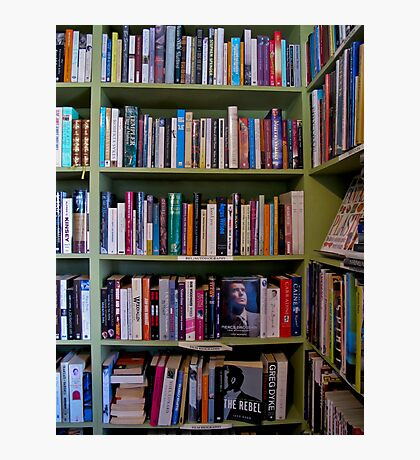 book shelves Photographic Print