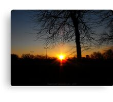 saturday sunrise Canvas Print