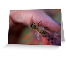 On My Finger Greeting Card