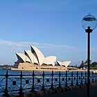 Sydney waterfront by Anne Scantlebury