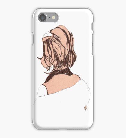 Seductive Back Lady#14 iPhone Case/Skin
