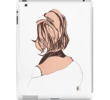 Seductive Back Lady#14 iPad Case/Skin