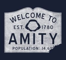 Welcome To Amity One Piece - Short Sleeve