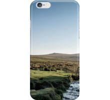 Mist and tree-shadows and deep water, and untame things... iPhone Case/Skin