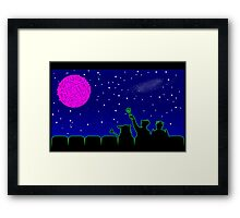Mystery Science Timey-Wimey Framed Print