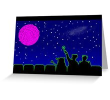 Mystery Science Timey-Wimey Greeting Card