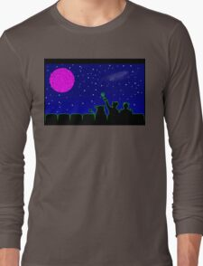 Mystery Science Timey-Wimey Long Sleeve T-Shirt