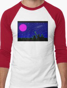Mystery Science Timey-Wimey Men's Baseball ¾ T-Shirt