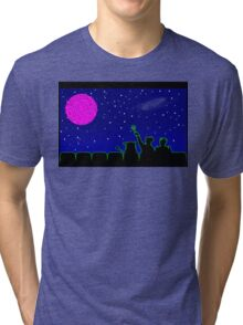 Mystery Science Timey-Wimey Tri-blend T-Shirt
