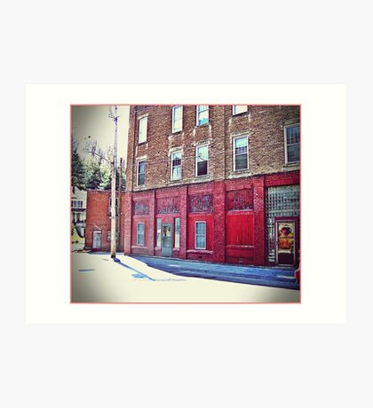 Red Red Wall Art Print
