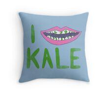 I Heart Kale Throw Pillow