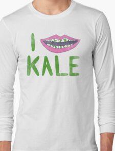 I Heart Kale Long Sleeve T-Shirt