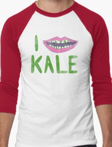 I Heart Kale Men's Baseball ¾ T-Shirt